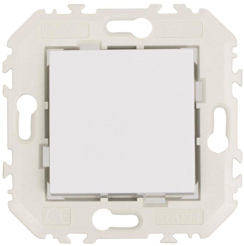 Włącznik pojedynczy QUADRO Biały EFAPEL
