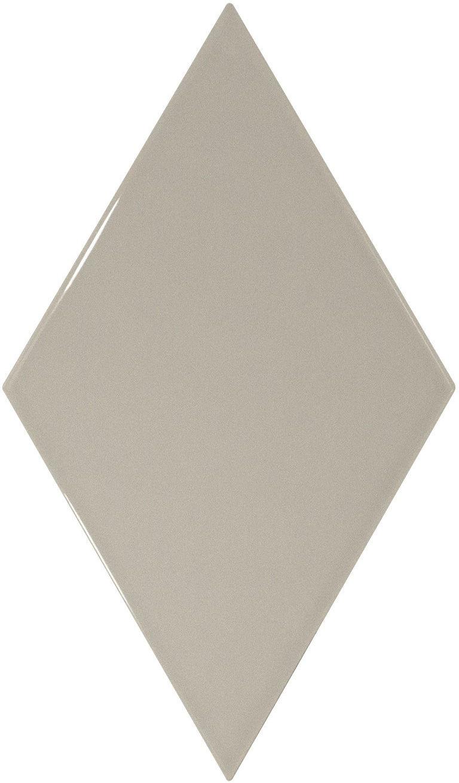 Rhombus Wall Light Grey Smooth 15,2x26,3