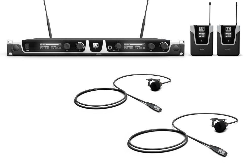 LD Systems U508 BPL 2 - system bezprzewodowy krawatowy