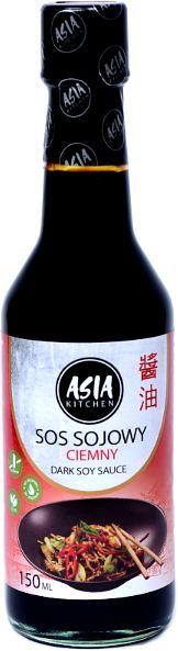 Sos sojowy ciemny 150ml - Asia Kitchen