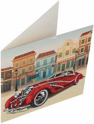 Crystal Art Klasyczny zestaw kart z kryształem do samochodu 18 x 18 cm