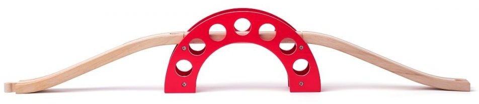 Most z czerwonym łukiem