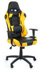 Fotel gamingowy RACER CorpoComfort BX-3700 Żółty