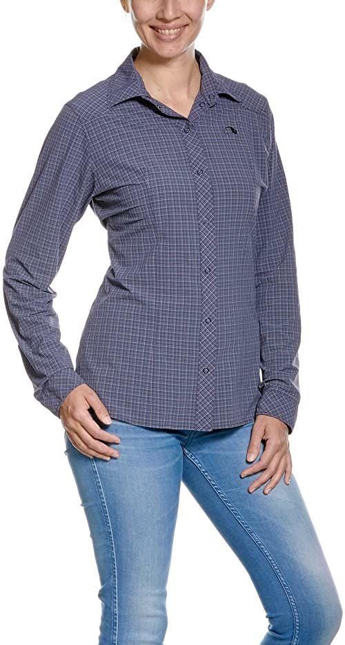 Tatonka Nilo W''s Ls koszulka damska niebieski MATT BLUE 40