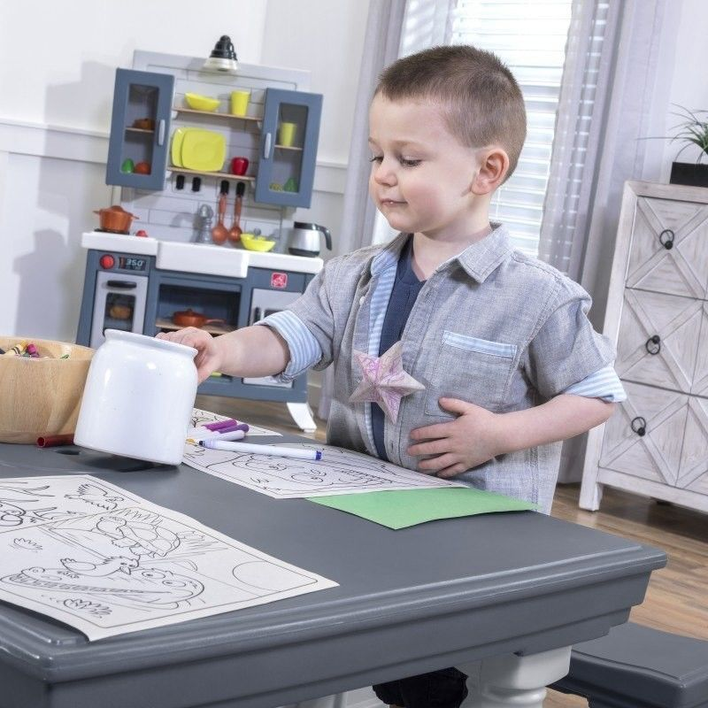 Step2 Zestaw Mebli Ogrodowych dla Dzieci Stół Piknikowy