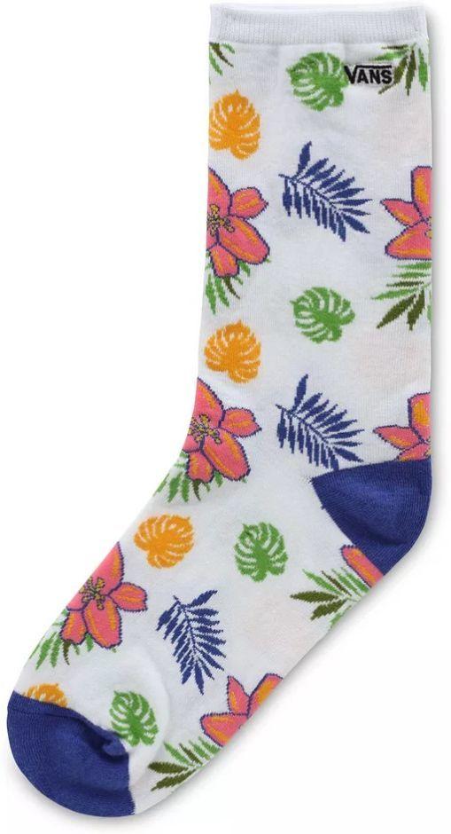 skarpety damskie VANS TICKER SOCKS Tropical Floral