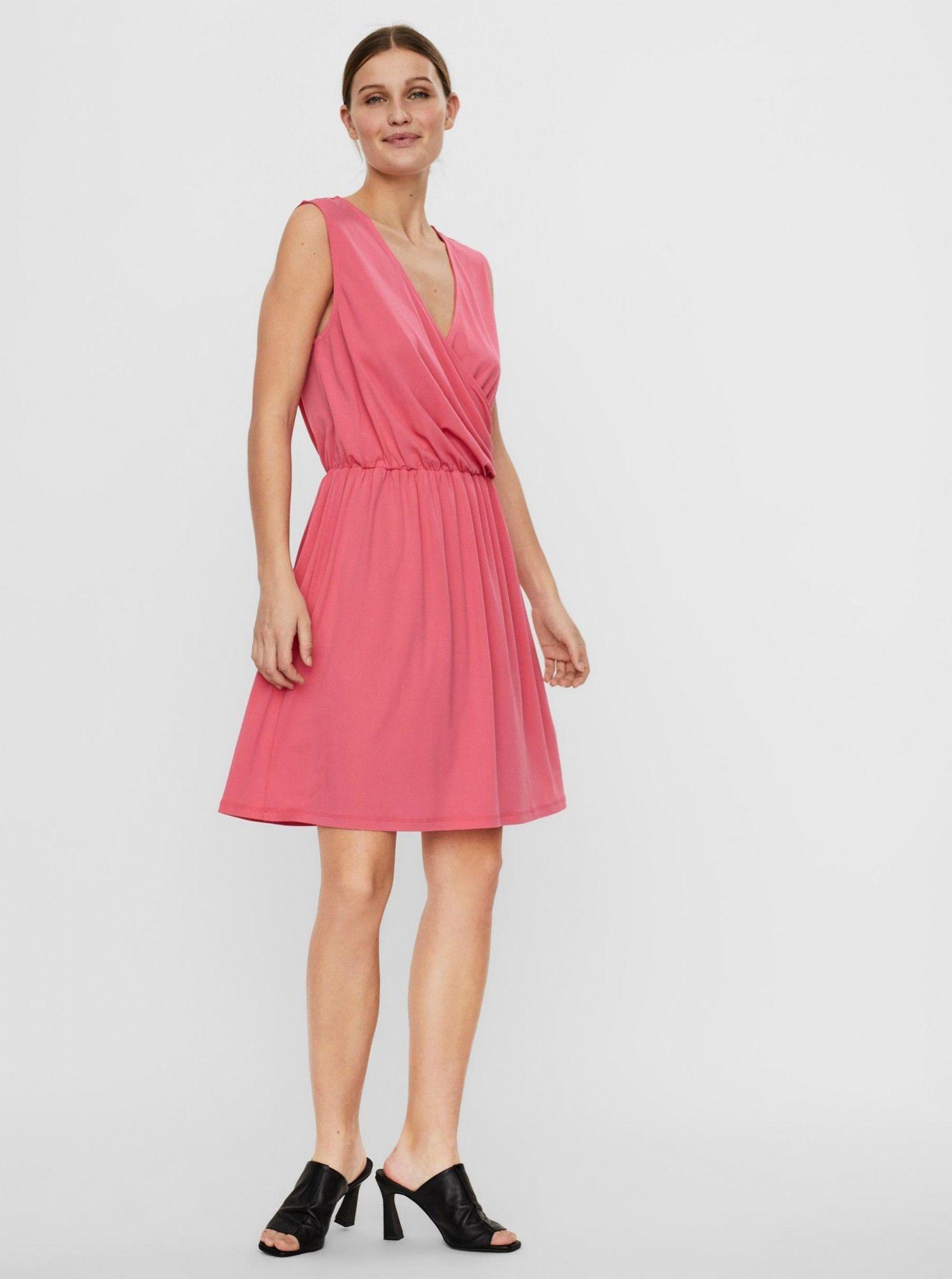 Vero Moda różowy sukienka Haidy