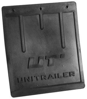 Chlapacz gumowy Unitrailer osłona na błotnik do przyczep duży