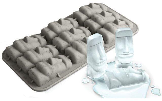Foremki na lód Moai