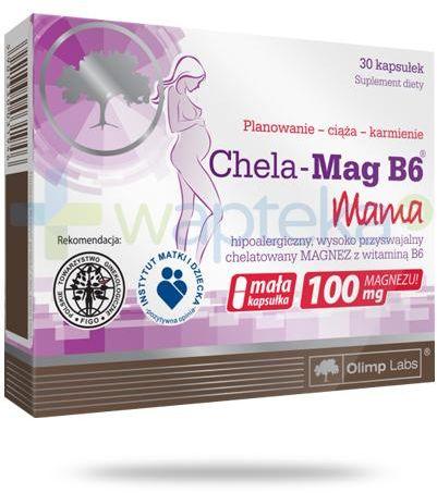 Olimp Chela-Mag B6 Mama 30 kapsułek