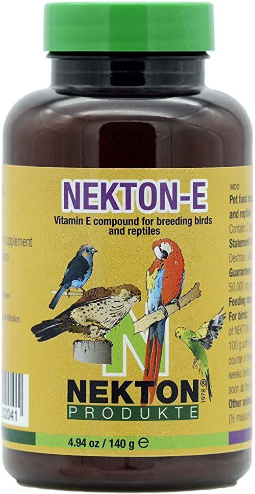 Nekton -E Suplement witaminowy E dla ptaków, 140 g