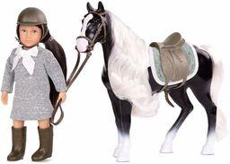 Lori LO31167Z 15 cm lalka i cygańska wanner koń, Ansley & Arabel