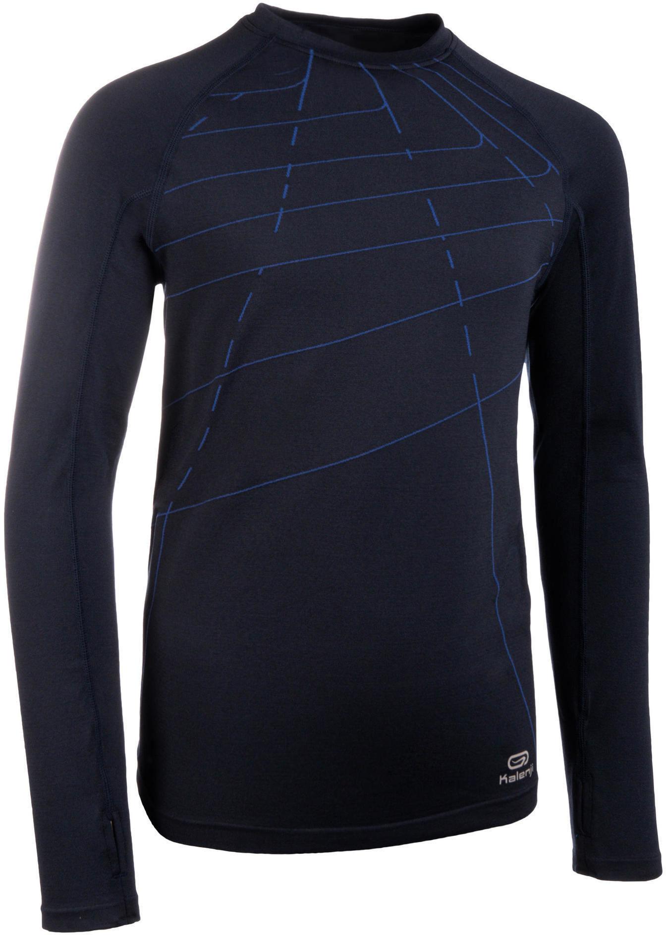 Koszulka termoaktywna do biegania dziecięca Kalenji AT 500