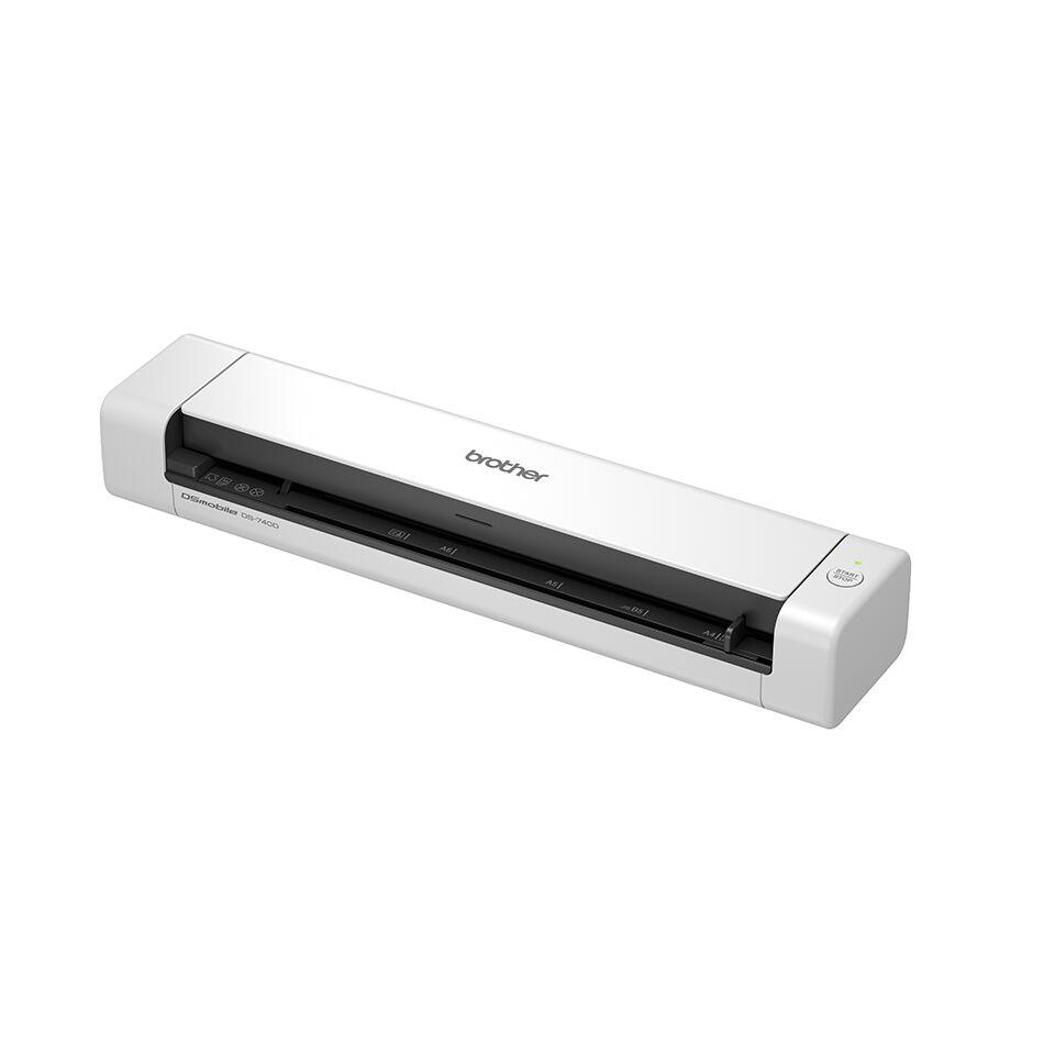 Brother DS-740D Lekki, przenośny cyfrowy skaner dokumentów A4