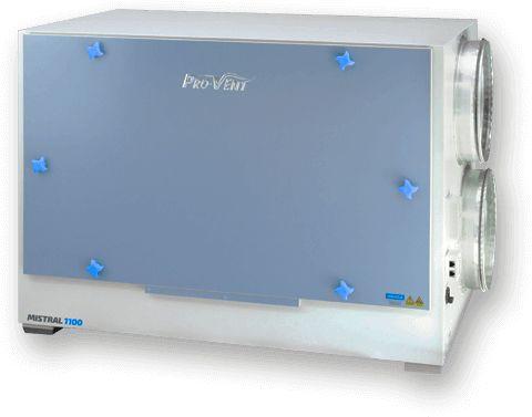 Rekuperator PRO-VENT MISTRAL 1100 EC