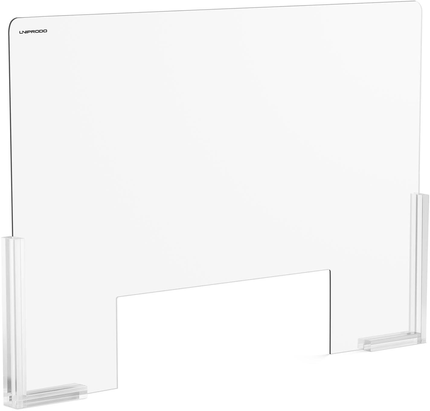 UNI-PPG03 Osłona z plexi - 95 x 65 cm - duże okienko 38 x 25 cm Uniprodo 10250442