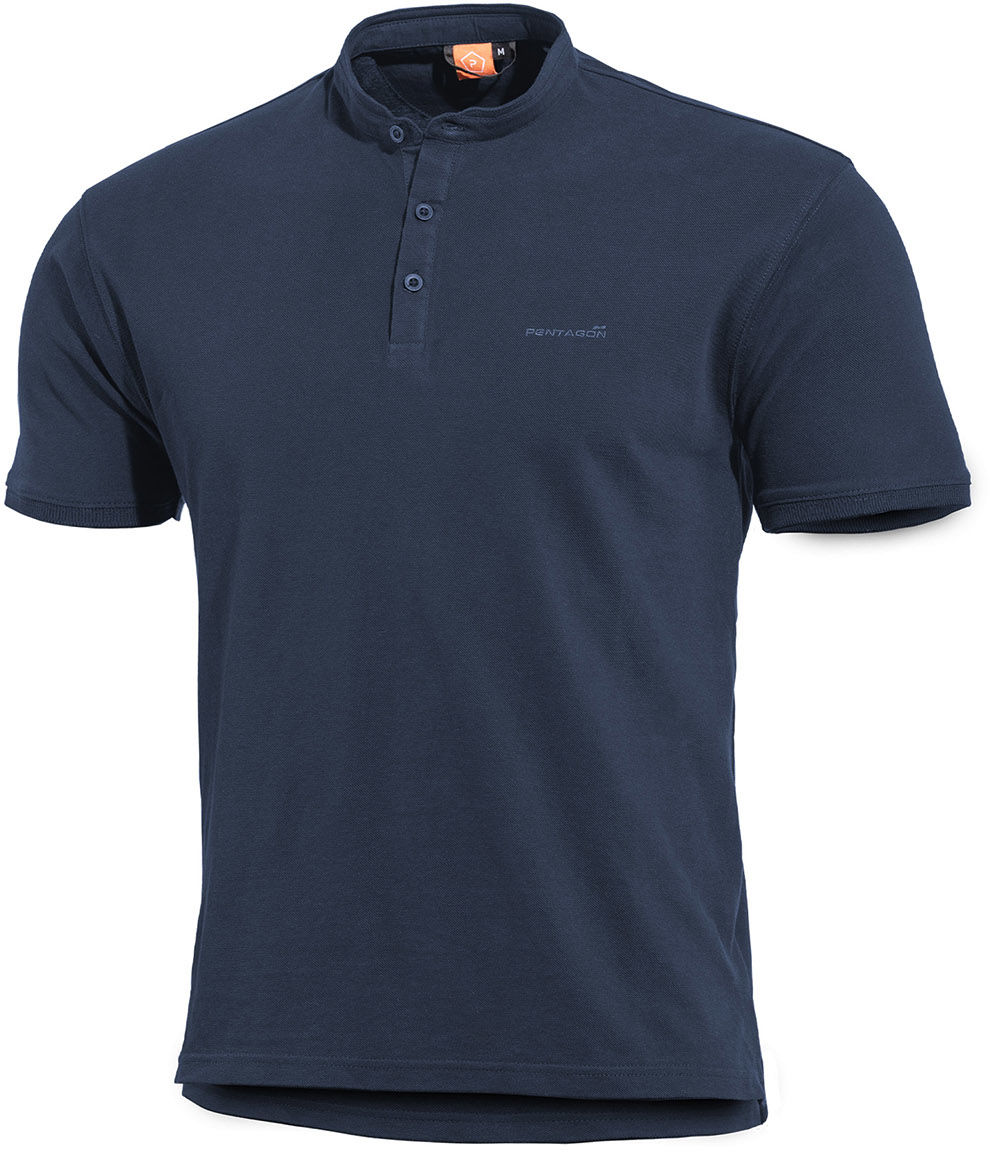 Koszulka T-Shirt Pentagon Levantes Henley Navy Blue (K09025-05)