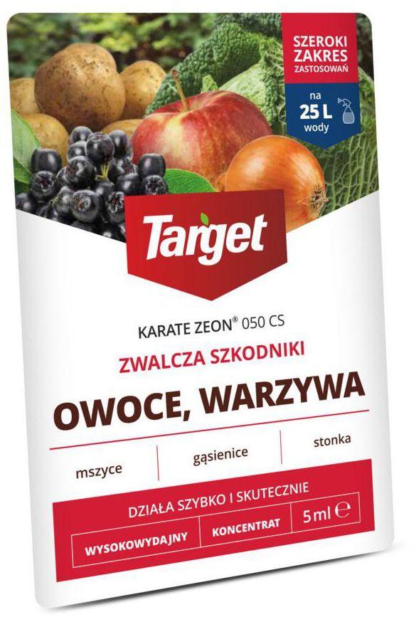 Środek owadobójczy i przędziorkobójczy KARATE ZEON 5 ml TARGET