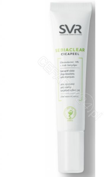 SVR Sebiaclear Cicapeel żel przeciw zaskórnikom i bliznom, 15 ml