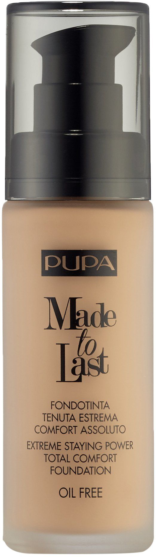 Pupa Made To Last Foundation 050 Sand