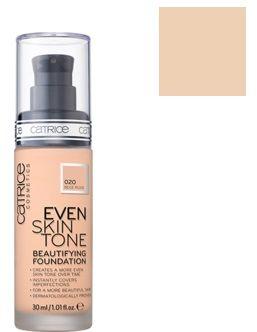 Catrice Cosmetics Even Skin Tone Trwały i pielęgnacyjny podkład do twarzy 020 Beige Rose - 30ml Do każdego zamówienia upominek gratis.