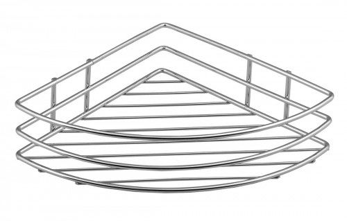 CHROM LINE półka druciana narożna, 20x9x20 cm chrom