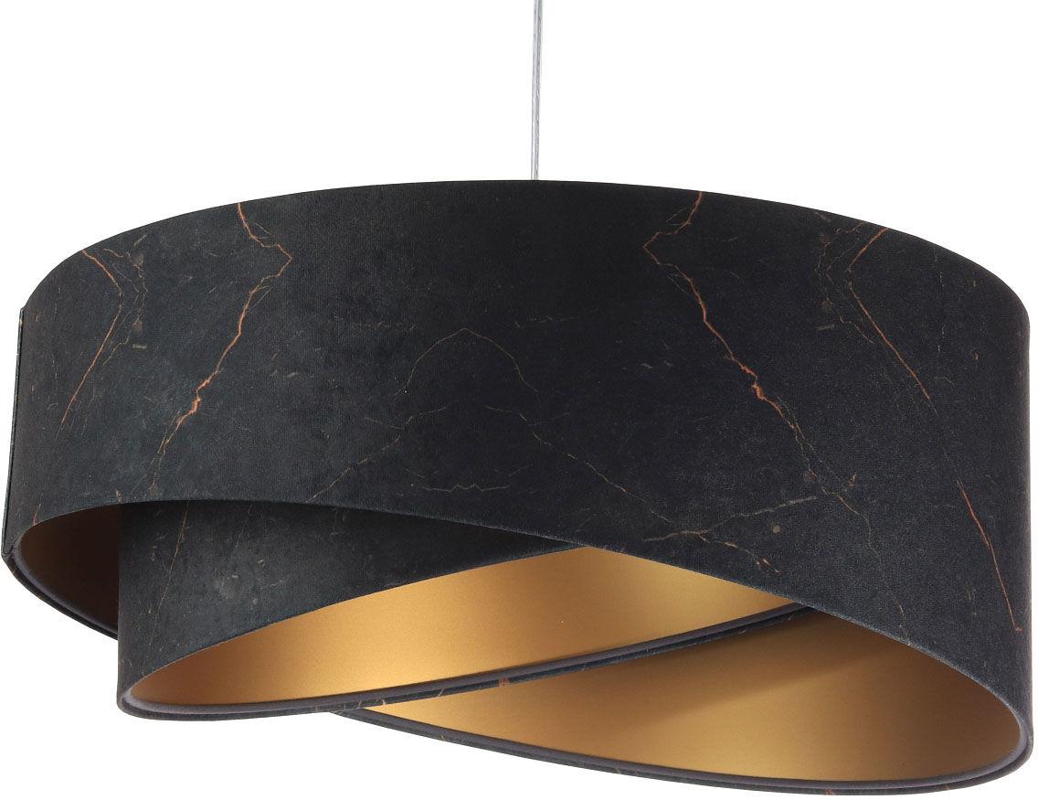 Czarno-złota lampa wisząca glamour - EXX15-Magela