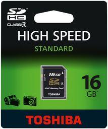 Toshiba SD-K16GJ(BL5 Class 4 SDHC 16 GB karta pamięci czarna