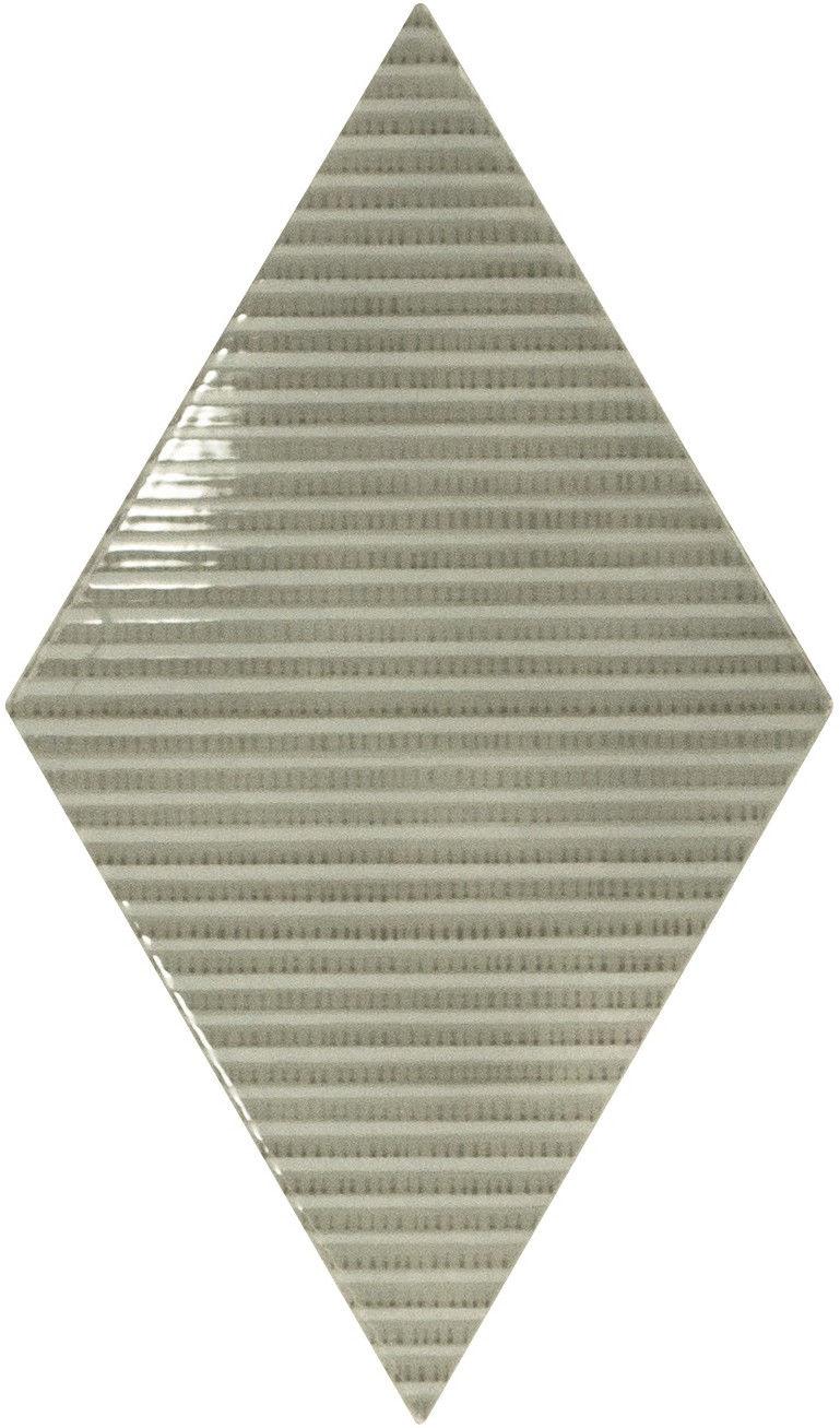 Rhombus Wall Mist Green Bambu 15,2x26,3