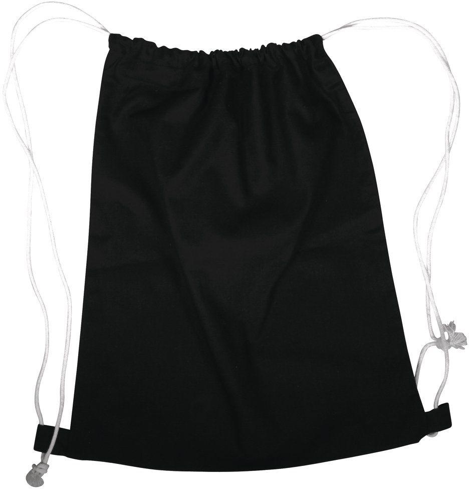 Rayher Hobby 38694576 worek na czas wolny/sportowy/sportowy, ze ściągaczem, 38 x 42 cm, czarny, torba, plecak