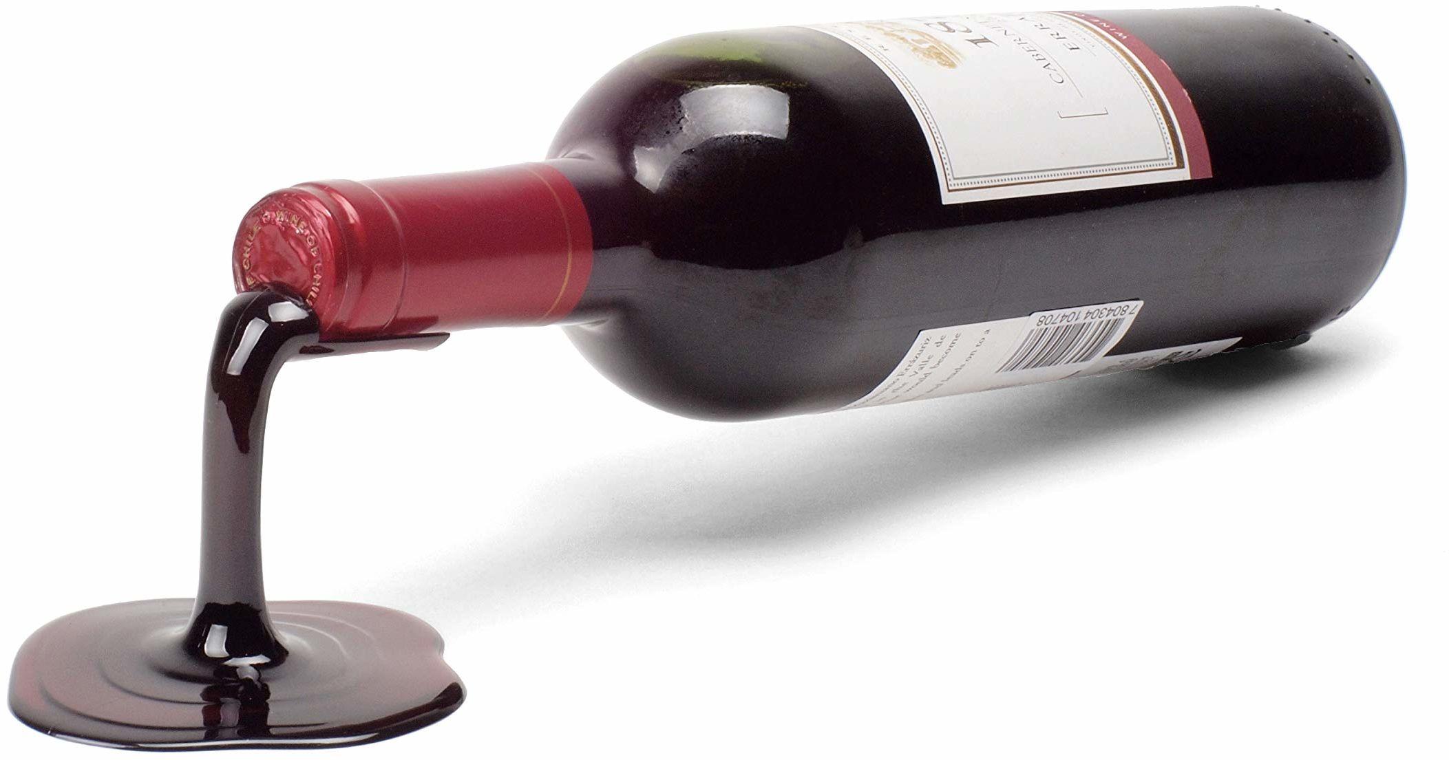 Ludi-Vin stojak na kaskady czerwonego wina