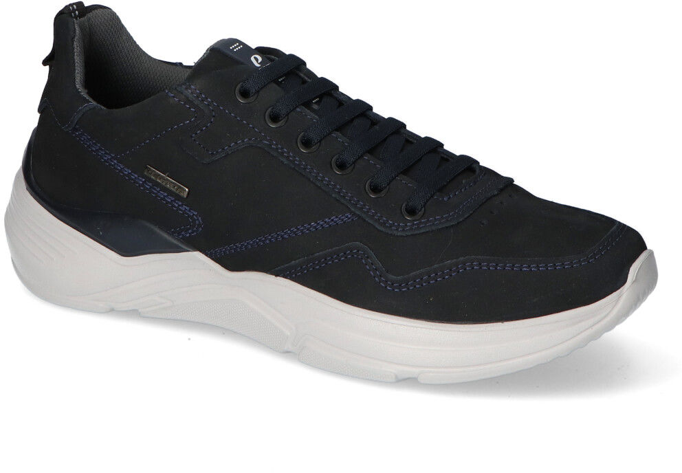 Sneakersy Pegada 118802-13 Granatowe nubuk