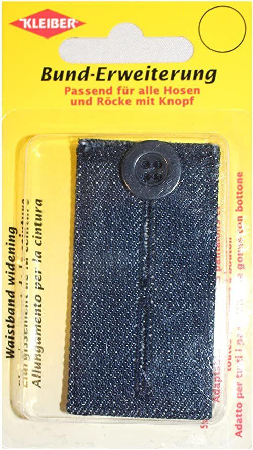 Kleiber Lekki denim przedłużenie talii na guziki do spodni i spódnic wykonane w 100% z bawełny