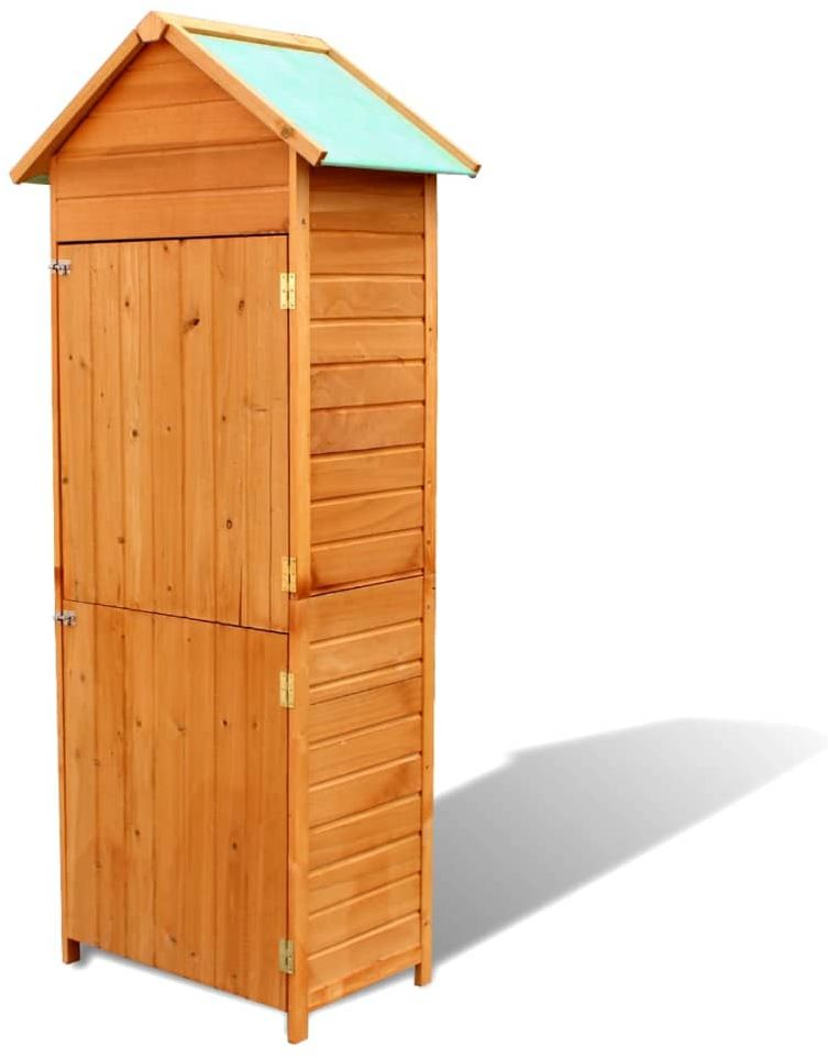 Drewniana szafa ogrodowa - Garda