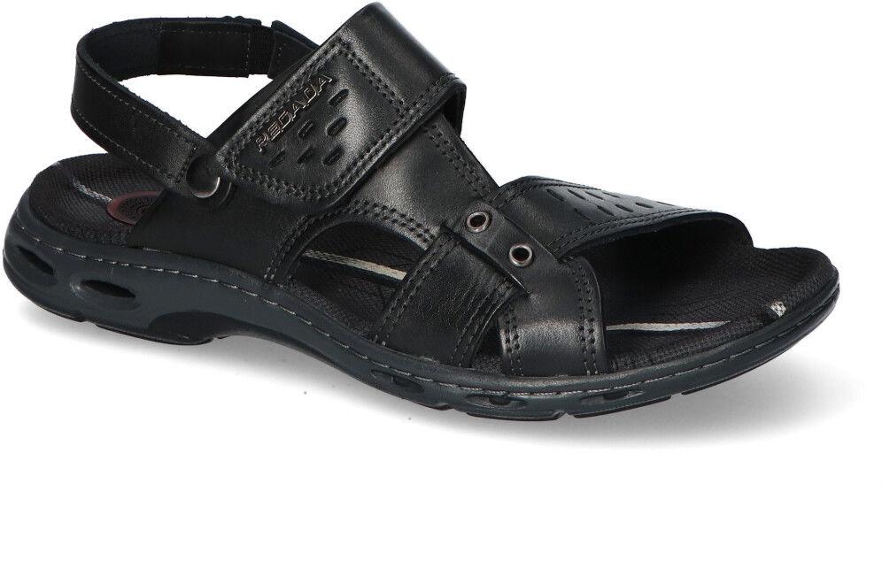 Sandaly Pegada 130653-05 Czarne lico