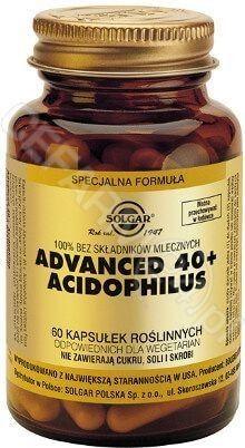SOLGAR Advanced 40+ Acidophilus 60 kapsułek