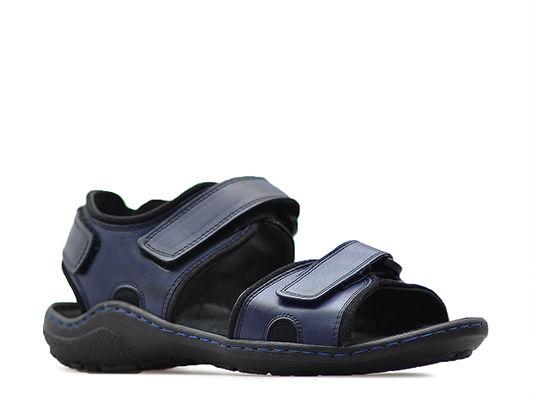 Sandały Męskie Pan Granatowe