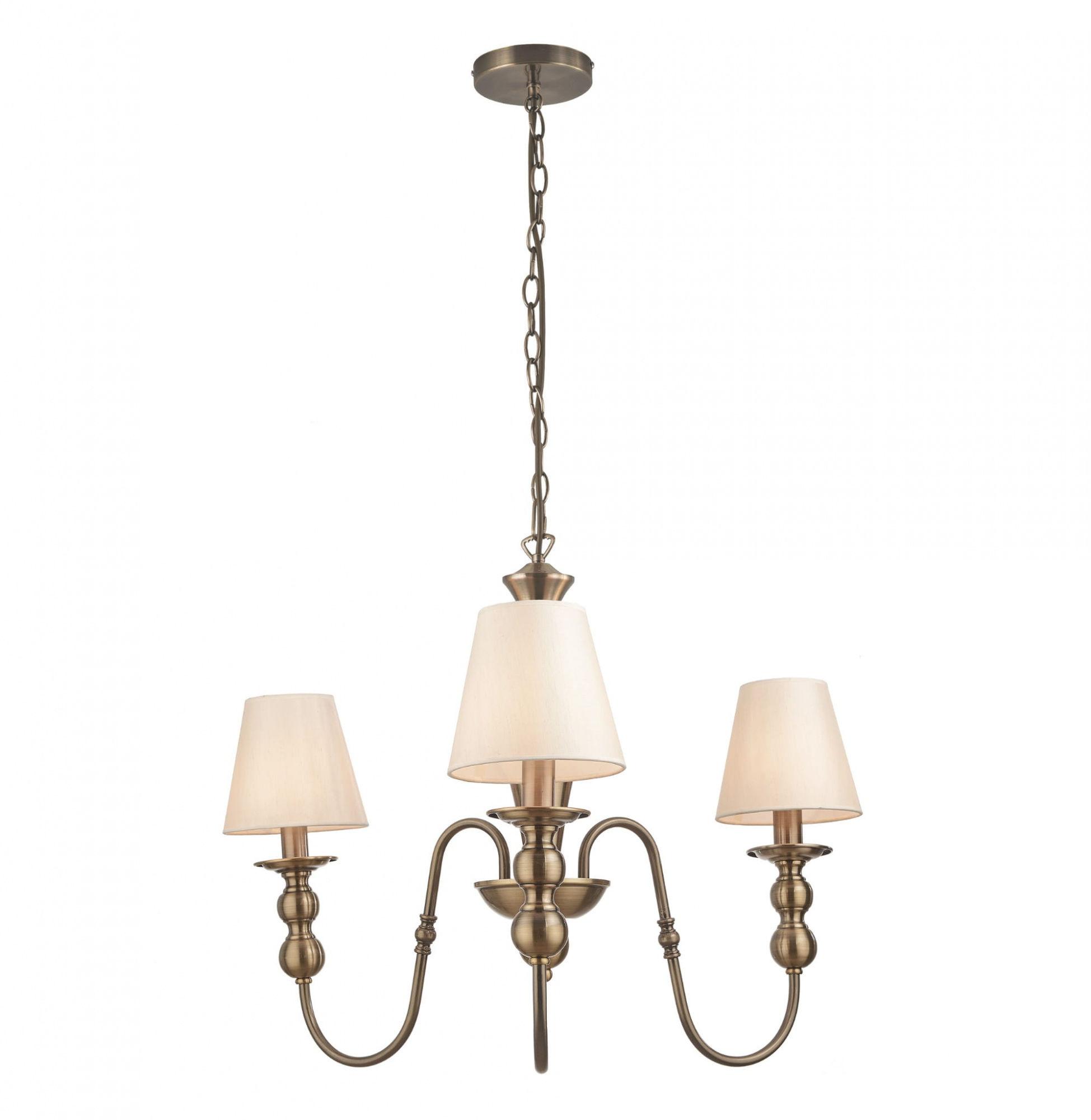 Lampa wisząca Grado LP-888/3P Light Prestige mosiężny żyrandol w klasycznym stylu