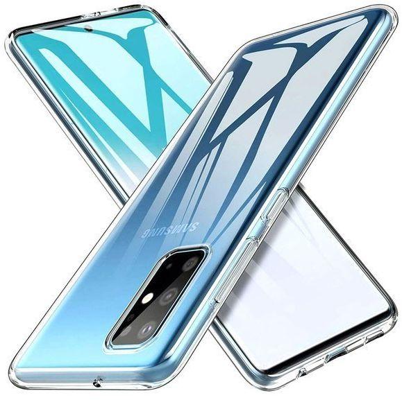 Etui Samsung S20 Plus silikonowe przezroczyste Crystal Case