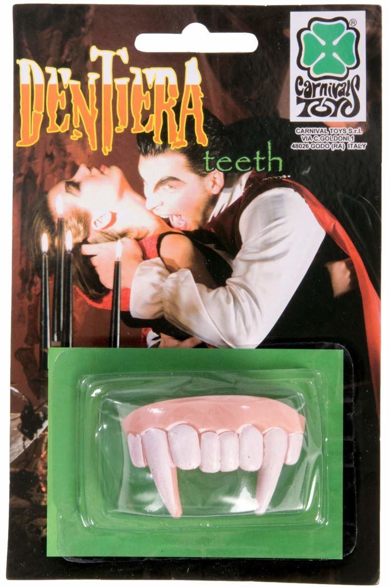 Carnival Toys 06514 - zęby wampira części ciała