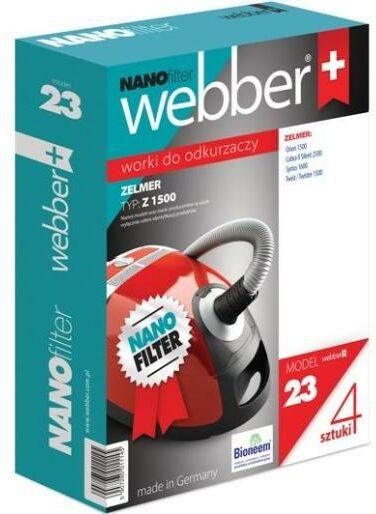 Webber 23 Nano Zelmer 1500