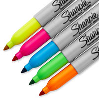 Sharpie Neon Markey permanent FN 5kol bl NEW