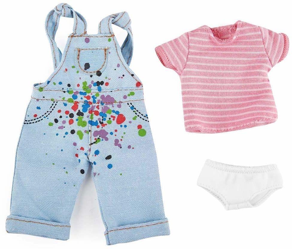 Käthe Kruse 0126860 Chloe Malerin Outfit, jasnoniebieski