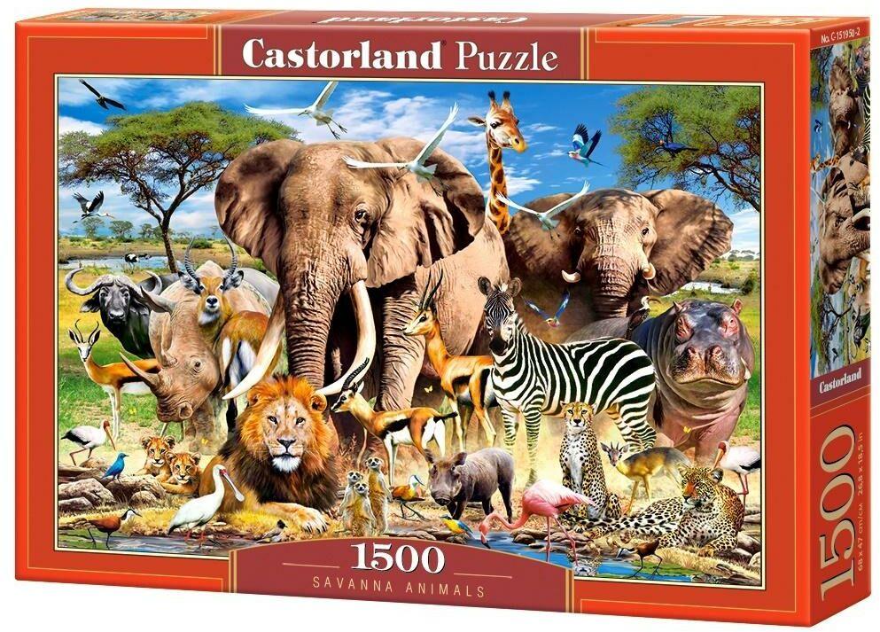 Puzzle 1500 Savanna Animals CASTOR