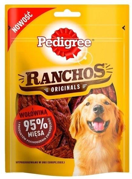 Pedigree Ranchos z wołowiną 70g