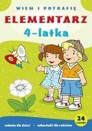 Elementarz 4-latka Wiem i potrafię - Dorota Krassowska