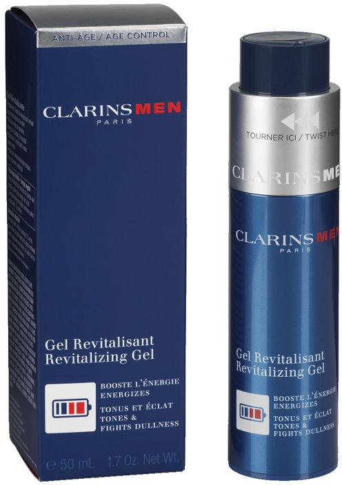Clarins Men Revitalizing Gel Rewitalizujący żel do twarzy - 50ml