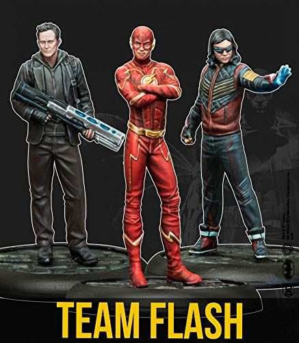 Knight Models Blat - miniaturowa gra żywica DC komiks superbohater - Team Flash