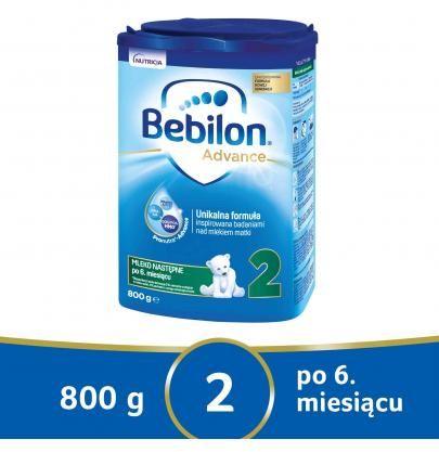 Bebilon 2 Pronutra Advance mleko modyfikowane po 6. miesiącu 800 g