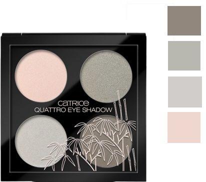 Catrice Cosmetics Zensibility Quattro Eye Shadow Poczwórne cienie do powiek C01 Ease And Comfort - 8g Do każdego zamówienia upominek gratis.